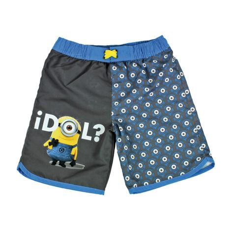 Minions Idol Print Kids Swimming Shorts  £14.99