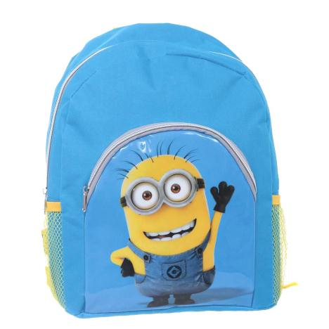 Waving Minions Backpack With Pocket   £11.99