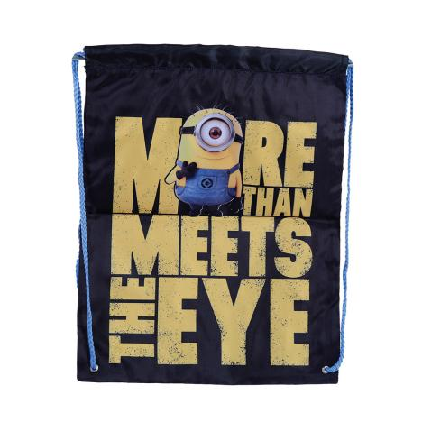More Than Meets The Eye Minions Drawstring Bag  £4.99