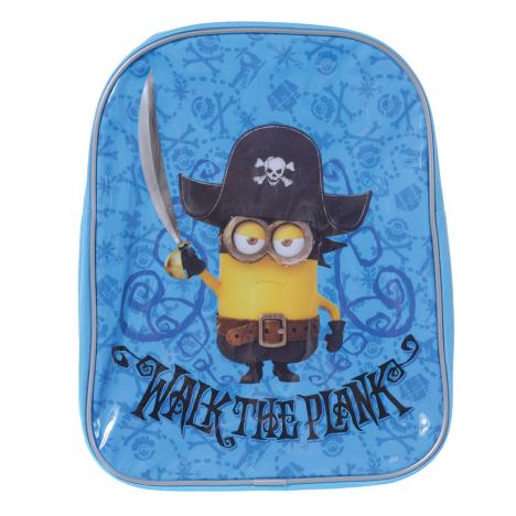 Walk the Plank Pirate Minions Backpack   £5.99