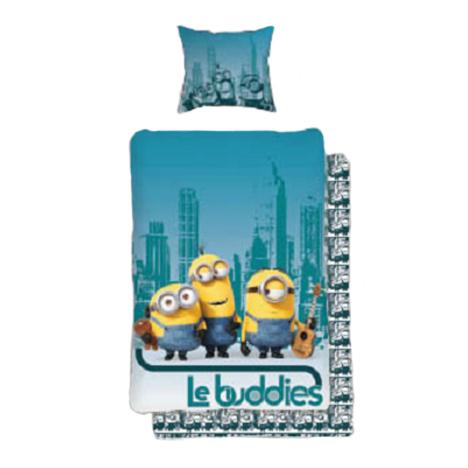 Le Buddies Minions Single Duvet Cover Set   £24.99