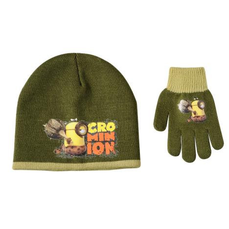 Cro Minions Hat & Gloves Set  £4.99