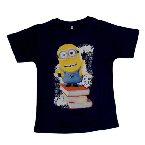 Top Of The Class Navy Minions T-Shirt  £4.99