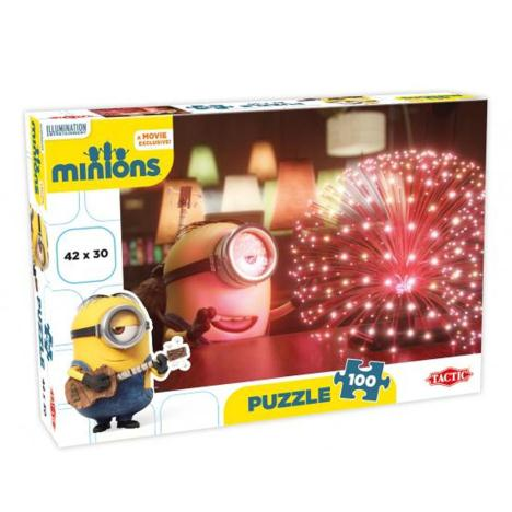 Minion Stuart in awe 100pc Minions Jigsaw Puzzle  £8.99