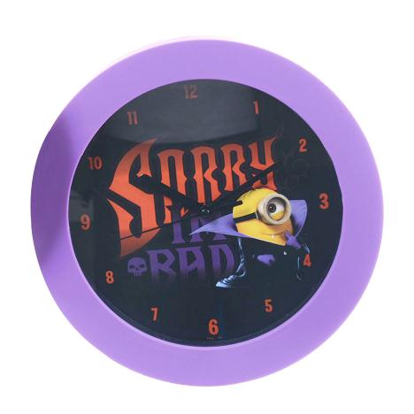 Sorry Im Bad Minions Dracula Wall Clock   £8.99