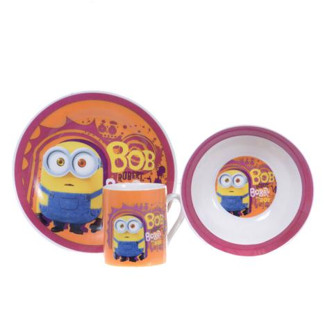 Bobby My Boy Minions 3 Piece Breakfast Set  £7.99