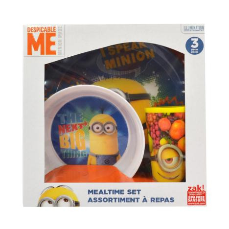 Minions 3pc Plate Bowl & Cup Mealtime Set  £9.99
