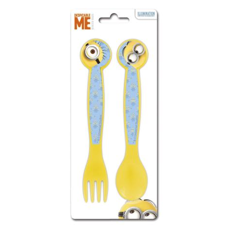 Minions Fork & Spoon Cutlery Set   £1.59