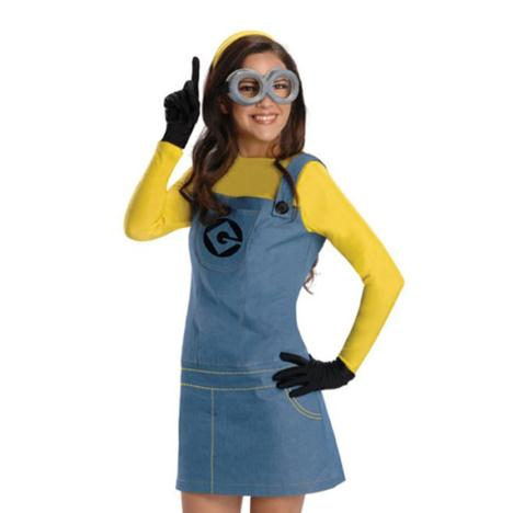 Ladies Minions Fancy Dress Costume  £34.99