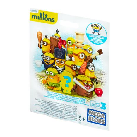 Mega Bloks Buildable Minions Blind Pack Series 3  £2.99