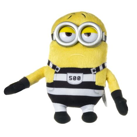 Minion Tom In Jail Small Plush Soft Toy  £9.99