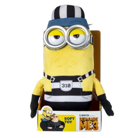 Minion Tim In Jail Medium Plush Soft Toy  £15.99
