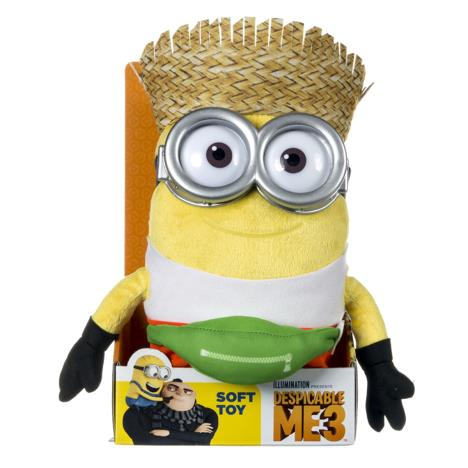 Minion Dave Freedonian Medium Plush Soft Toy  £16.99