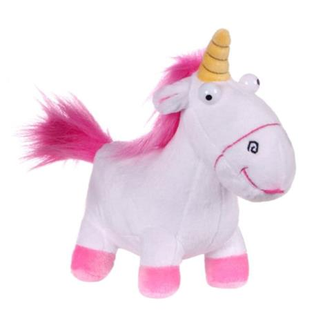 Fluffy Unicorn Despicable Me Small Soft Plush Toy  £9.49