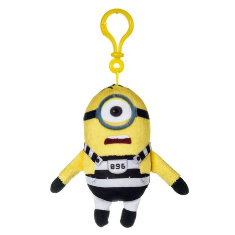 Minion Stuart In Jail Plush Bag Clip  £5.99