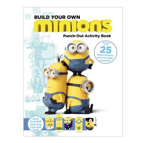 Build Your Own Minions Press Out Model Book  £12.99