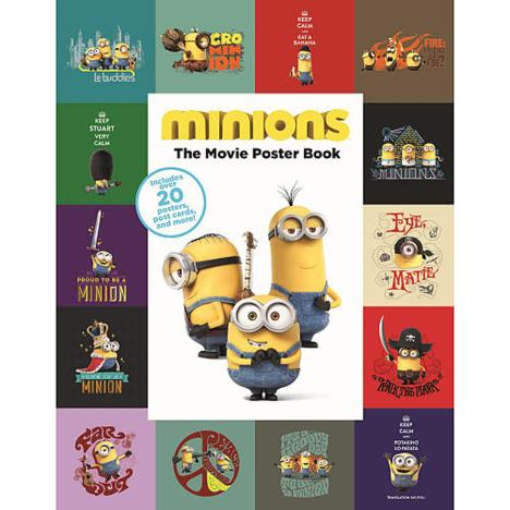 Minions The Movie A4 Poster Book  £4.99
