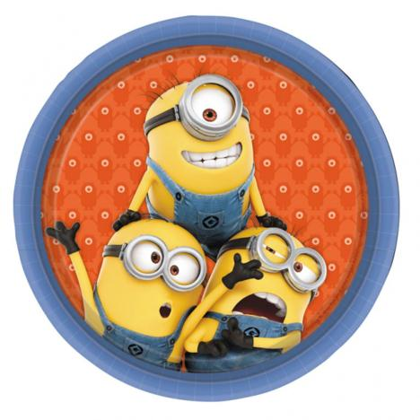 Minions Paper Plates (Pack of 8)  £2.99