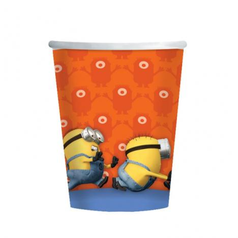 Minions Paper Cups (Pack of 8)  £2.99