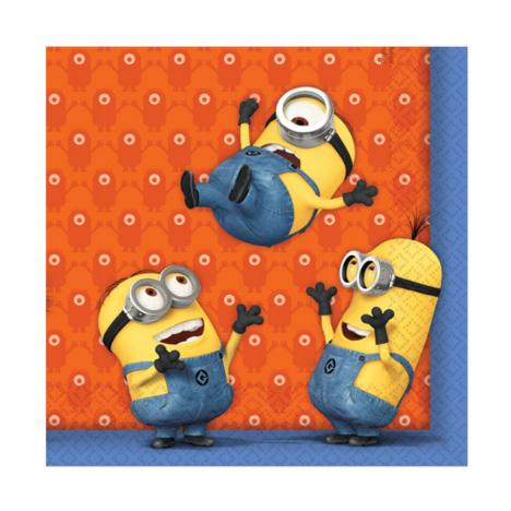 Minions Party Napkins (Pack of 20)  £3.49