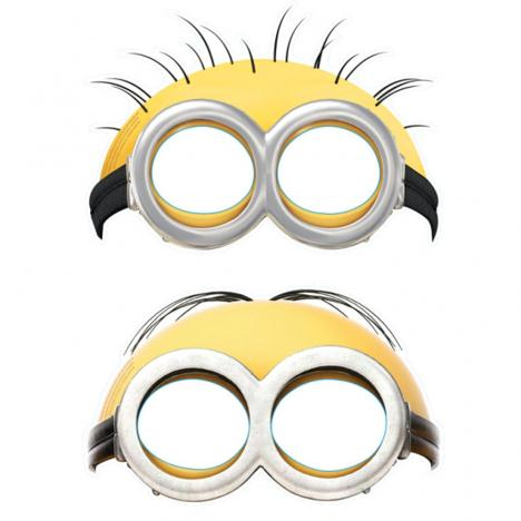 Minions Face Masks (Pack of 6)  £2.99