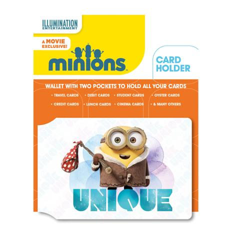 Minions Unique Bob Pass Card Holder   £2.99