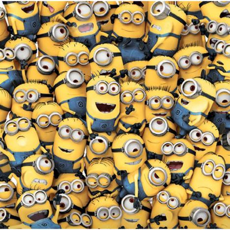 Sea of Minions Blank Minions Card  £1.85