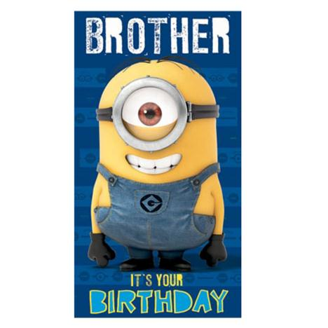 Bother Minion Birthday Card  £2.10