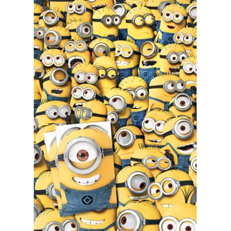 Minions Gift Wrap & Tags   £1.75