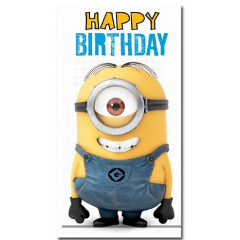 Happy Birthday Minion Fold Out Card  £3.00