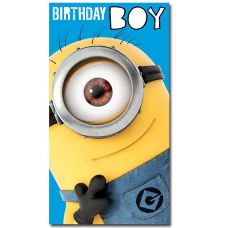 Birthday Boy Minions Card  £2.10