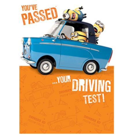 Passed Your Driving Test Congratulations Minions Card  £1.60