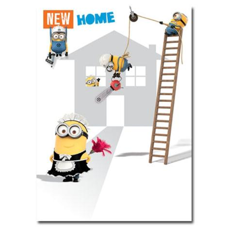 New Home Congratulations Minions Card  £1.60