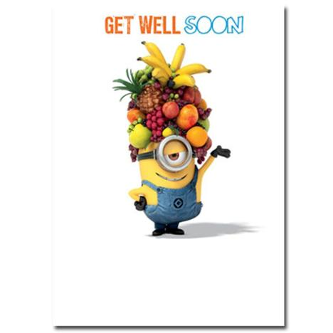 Get Well Soon Minions Card  £1.60