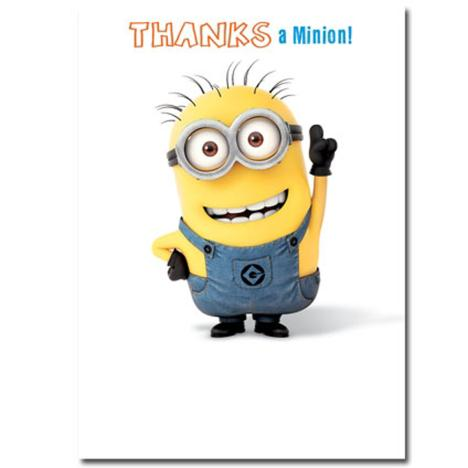 Thanks A Minion Thank You Card  £1.60