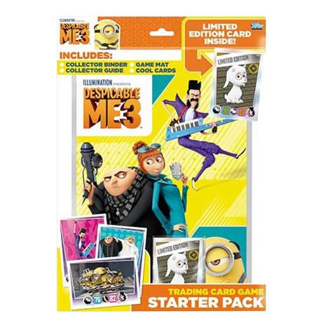Despicable Me 3 Trading Card Game Starter Pack  £5.00