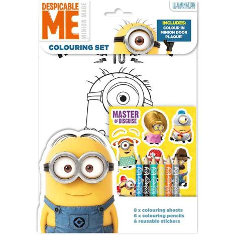 Minions Colouring Set with Stickers  £1.79