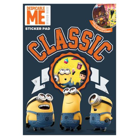 Minions A4 Sticker Pad  £1.99