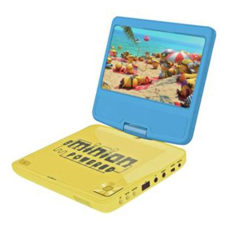 "7"" Minions Portable DVD Player with Remote Control   £89.99"