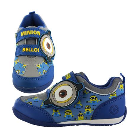 Minions Bello Kids Velcro Plimsoll Runner Trainers  £17.99