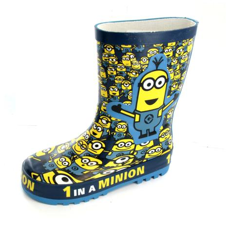 Kids Many Minions PVC Wellington Boots  £14.99