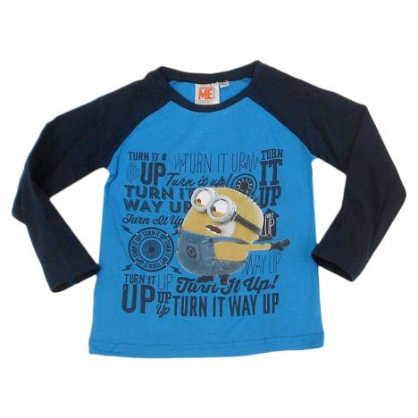 Turn It Up Minions Long Sleeved T-Shirt  £6.99