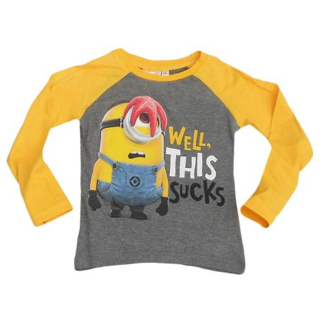 This Sucks Minion Stuart Long Sleeved T-Shirt  £6.99