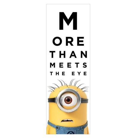 More Than Meets The Eye Slim Minions Poster  £3.99
