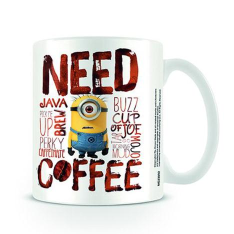 Need Coffee Minions Mug  £6.99