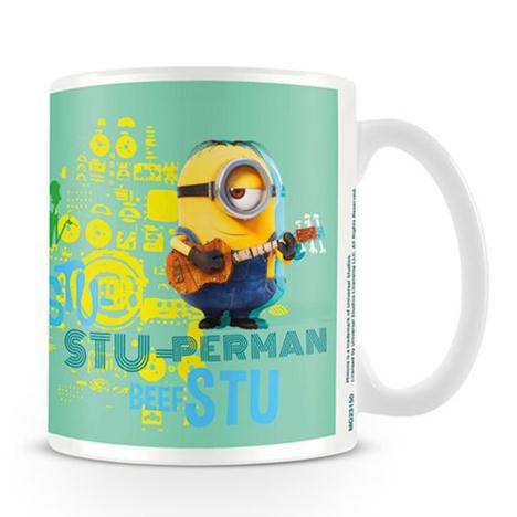 Stu-perman Minions Stuart With Guitar Mug  £6.99