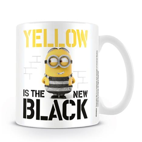 Despicable Me Minions Yellow is the New Black Mug  £6.99