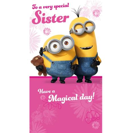 Special Sister Minions Birthday Card  £2.10