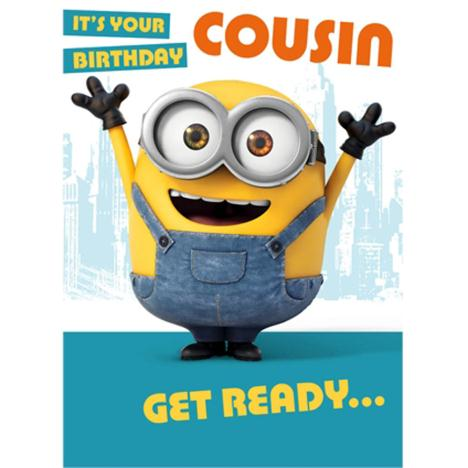 Cousin Minions Birthday Card  £1.60