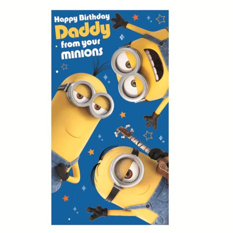 Daddy From Your Minions Birthday Card  £2.10